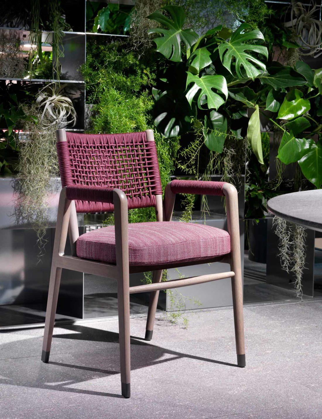 Flexform Ortigia Dining Armchair