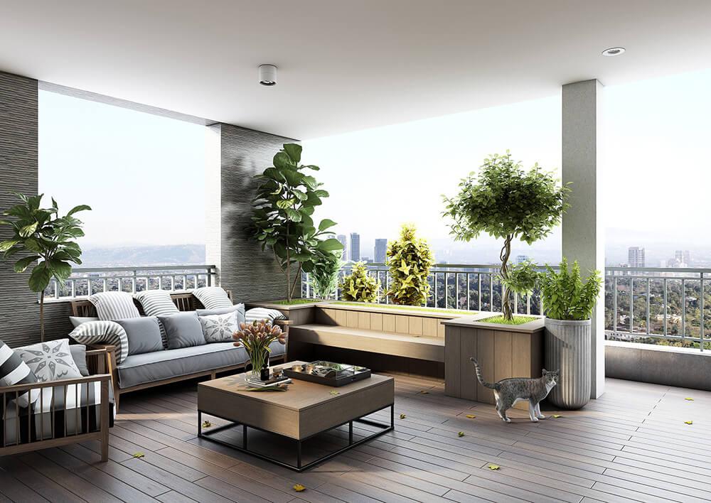 Guida E Consigli Su Come Arredare Balconi Di Piccole E Grandi Dimensioni